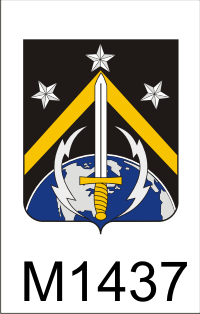 Space Coat Of Arms FIRST SPACE BRIGADE PATCH
