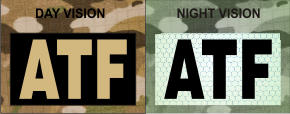 ATF TAN ON MAGIC BLACK NIGHT VISION