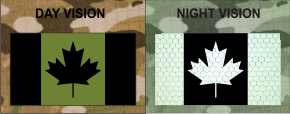 CANADA GREEN ON MAGIC BLACK NIGHT VISION