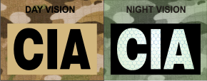 CIA MAGIC BLACK ON TAN NIGHT VISION
