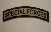 SPECIAL FORCES 3 X 1 MAGIC BLACK ON TAN