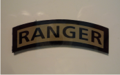 RANGER ARC 2 1/2 X 7/8 MAGIC BLACK ON TAN