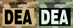 DEA MAGIC BLACK ON TAN NIGHT VISION
