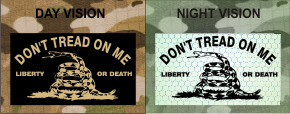 DONT TREAD ON ME TAN ON MB NIGHT VISION