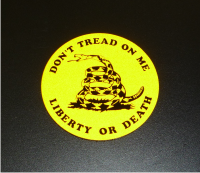 DONT TREAD ON ME REFLECTIVE CIRCLE PATCH