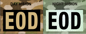 EOD TAN ON MAGIC BLACK NIGHT VISION