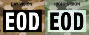 EOD WHITE ON MAGIC BLACK NIGHT VISION