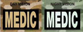 MEDIC TAN ON MAGIC NLACK NIGHT VISION