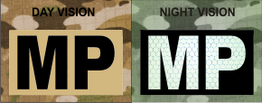 MP MAGIC BLACK ON TAN NIGHT VISION