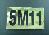 MULTICAM FABRIC IR CALL SIGN PATCH