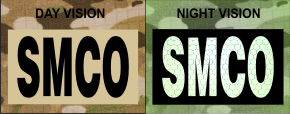 SMCO IR MAGIC BLACK ON TAN SOLASX PATCH