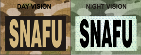 SNAFU TAN ON MAGIC BLACK NIGHT VISION