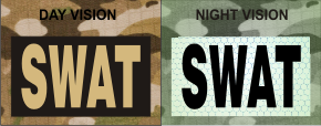 SWAT TAN ON MAGIC BLACK NIGHT VISION