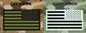 USA LEFT GREEN ON MB NIGHT VISION