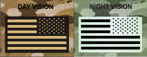 USA LEFT TAN ON MB NIGHT VISION