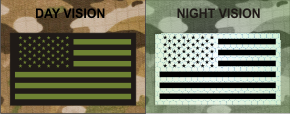USA RIGHT GREEN ON MB NIGHT VISION