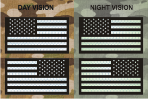 USA RIGHT PLUS LEFT CARBON BLACK ON SOLAS NIGHT VISION