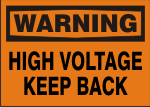 WARNING HIGH VOLTAGE KEEP BACK.png (10935 bytes)