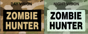 ZOMBIE HUNTER TAN ON MAGIC BLACK NIGHT VISION