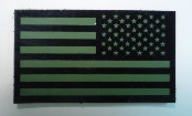 USA LEFT OD GREEN ON MAGIC BLACK