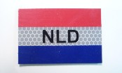 NETHERLANDS DUTCH RED PLUS BLUE ON SOLAS 3 1/2 X 2