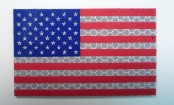 USA RIGHT RED PLUS BLUE ON SOLAS 3 1/2 X 2 1/8