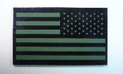 usa left od green on magic black 3 1/2 x 2 1/8