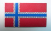 NORWAY RED PLUS BLUE ON SOLAS 3 1/2 X 2