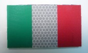 ITALY GREEN PLUS RED ON SOLAS 3 1/2 X 2