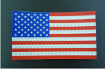 forward usa red and blue solas flag