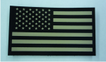 forward usa ir solas flag patch