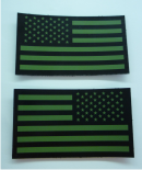 IR USA FLAG SET OD GREEN