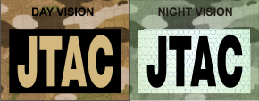 jtac tan on magic black night vision