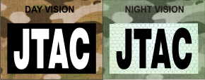 jtac white on magic black night vision