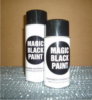 Infrared Magic Black IR Transparent Paint