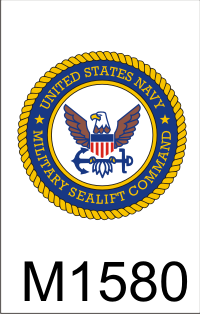 Military Sealift Command on Military Sealift Command Emblem Dui Military Sealift Fleet Support