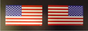 red and blue USA flag pxc