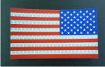 reverse red and blue usa solas patch