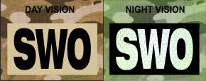 SWO IR PATCH IR MAGIC BLACK ON TAN