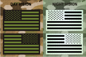 usa left plus right green on mb night vision