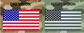 usa right red plus blue night vision