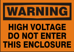 warning high voltage do not enter this enclosure.png (12740 bytes)
